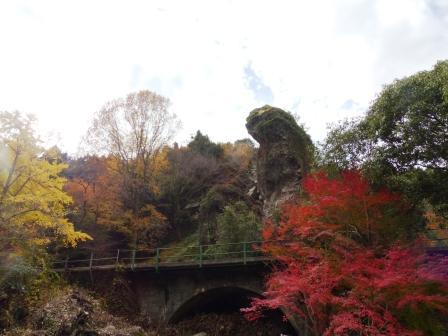 夫婦岩公園 紅葉 2