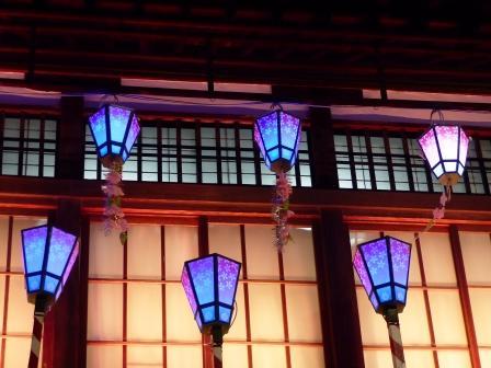 道後温泉本館 ライトアップ 13