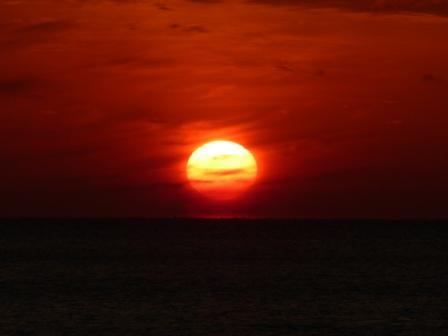 塩屋海岸 夕景 8