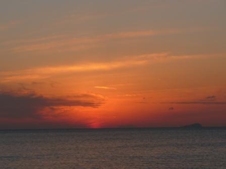 塩屋海岸 夕景 13