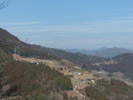 福寿草の里からの眺め