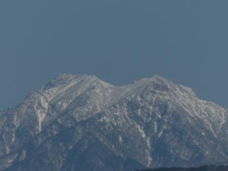 石鎚山遠景 2