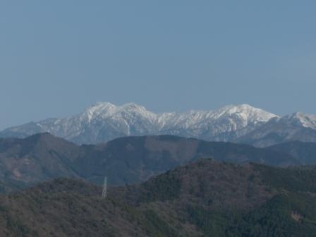 石鎚山遠景 3
