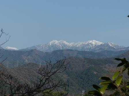 石鎚山遠景 4