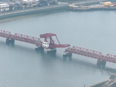 長浜大橋 開閉 1