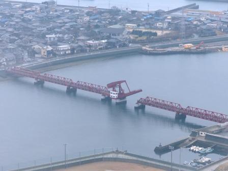 長浜大橋 開閉 2