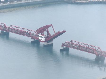 長浜大橋 開閉 3