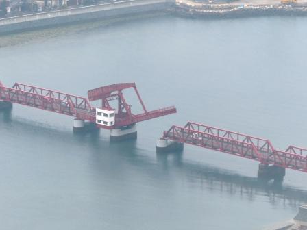 長浜大橋 開閉 5