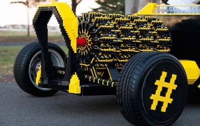Life Size Lego Car Powered by Air2
