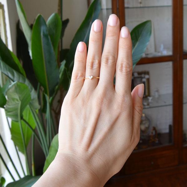 ハートの指輪