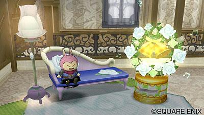 白バラ家具