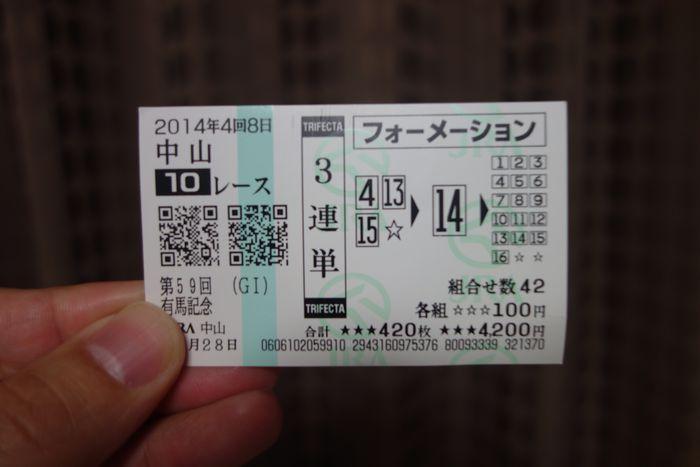 有馬記念2014-11