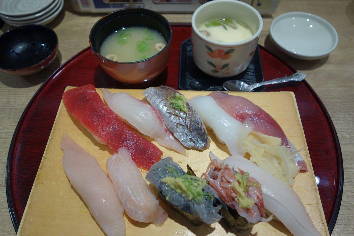 沼津魚がし鮨8
