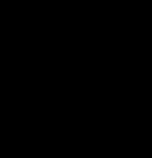 群馬県市町村地図・地名なし(背景透明)pngファイル