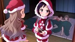 169_304688 aoba_kokona christmas dress kuraue_hinata kurosaki_honoka nakano_keiya yama_no_susume yukimura_aoi