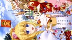 169_307162 amagi_brilliant_park calendar kanie_seiya latifah_fleuranza macaron moffle sento_isuzu tiramie uniform yukata