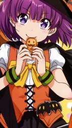 i_a302438 cleavage devil dress halloween horns koufuku_graffiti machiko_ryou morino_kirin shiina_(koufuku_graffiti) shiotsuki_kazuya tail thighhighs witch