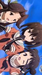 311417 fubuki_(kancolle) ibata_shota jintsu_(kancolle) kantai_collection naka_(kancolle) seifuku sendai_(kancolle)