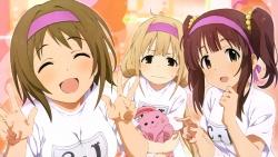 169_314764 anno_masato futaba_anzu gym_uniform mimura_kanako ogata_chieri the_idolm@ster the_idolm@ster_cinderella_girls