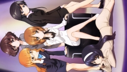 169_315968 akiyama_yukari business_suit girls_und_panzer isuzu_hana itou_takeshi megane nishizumi_miho reizei_mako takebe_saori