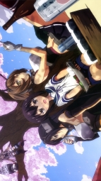 i_314715 fubuki_(kancolle) heels kantai_collection mutsu_(kancolle) nagato_(kancolle) rensouhou-chan seifuku shimakaze_(kancolle) shimizu_tsubasa thighhighs