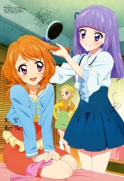 i_e 300219 aikatsu! autographed dress hikami_sumire oozora_akari shinjou_hinaki watanabe_satomi