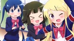 169_316939 hello!!_kiniro_mosaic kiniro_mosaic komichi_aya kujou_karen mimata_hiroshi oomiya_shinobu seifuku