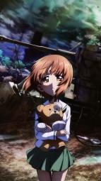 i_316450 girls_und_panzer nishizumi_miho seifuku