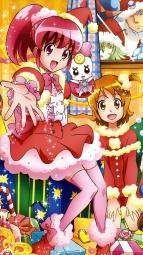 298060 aino_megumi calendar christmas gura-san heels hikawa_iona oomori_yuuko pretty_cure ribbon_(precure) satou_masayuki shirayuki_hime_(precure) thighhighsi_