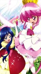 i_314712 aino_megumi dress happiness_charge_precure! oota_kazuhiro pantyhose pretty_cure tsumugi_(precure)