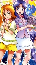 298057 calendar gura-san happiness_charge_precure! hikawa_iona oomori_yuuko pretty_cure satou_masayuki uniformi_