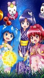 298058 aino_megumi blue_(precure) calendar gura-san hikawa_iona oomori_yuuko pretty_cure ribbon_(precure) satou_masayuki shirayuki_hime_(precure) yukatai_