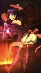 i279536 bloomers chuunibyou_demo_koi_ga_shitai! eyepatch takanashi_rikka thighhighs witch