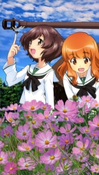 ia275514 akiyama_yukari girls_und_panzer isuzu_hana nishizumi_miho reizei_mako seifuku takebe_saori