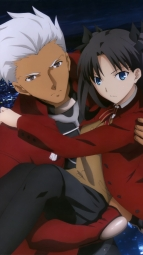 i_314722 archer fate_stay_night fate_stay_night_unlimited_blade_works kawamura_ikumi landscape pantyhose seifuku toosaka_rin