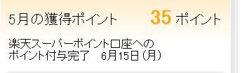 楽天アンケート 履歴 201505