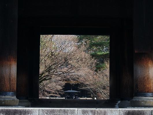 南禅寺三門から20141231