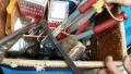 8mはしご×2 、6mはしご×3、電動工具、手工具色々 です。買取ました!i6