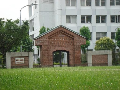 東京第一陸軍造兵廠跡旧変圧室モニュメント