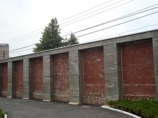 東京第一陸軍造兵廠跡煉瓦塀