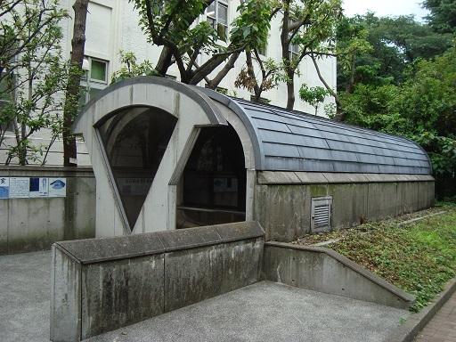 赤羽台3号墳石室保存施設