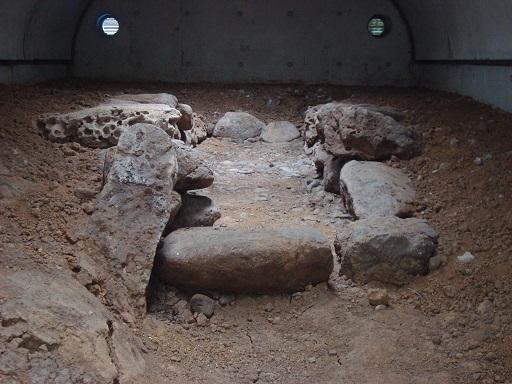 赤羽台3号墳石室