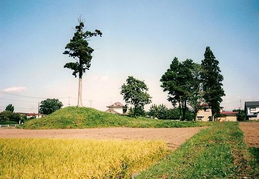 角塚古墳遠景