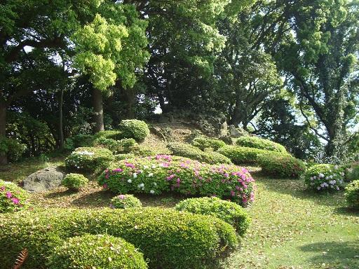 清澄庭園富士山