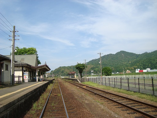 京都丹後鉄道宮豊線与謝野駅