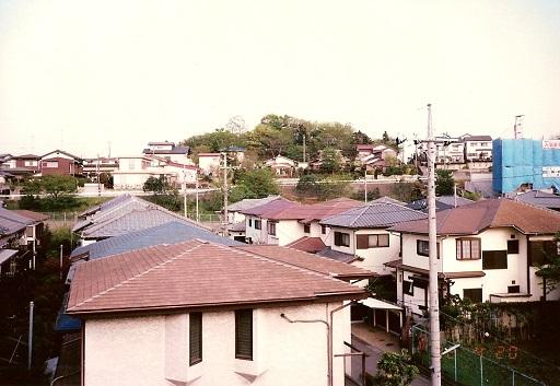 瓢塚古墳遠景