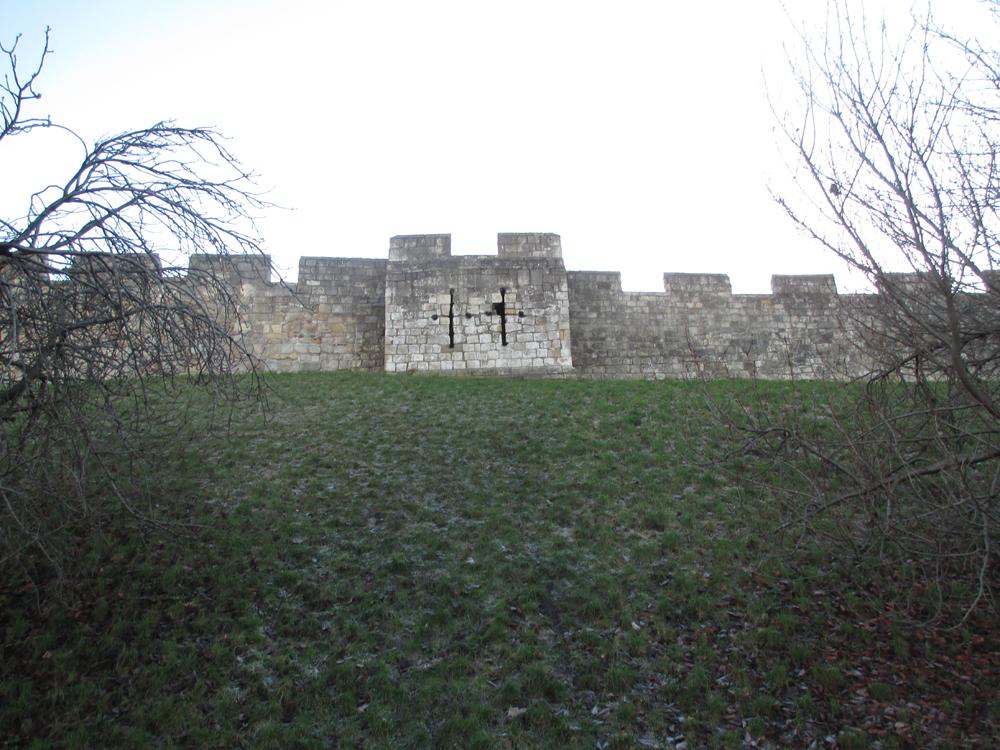 ヨーク市城壁 001-1