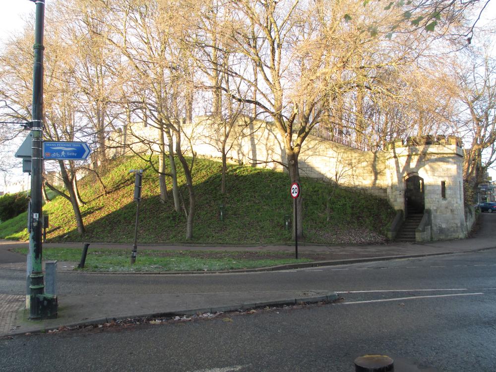 ヨーク市城壁 002-2