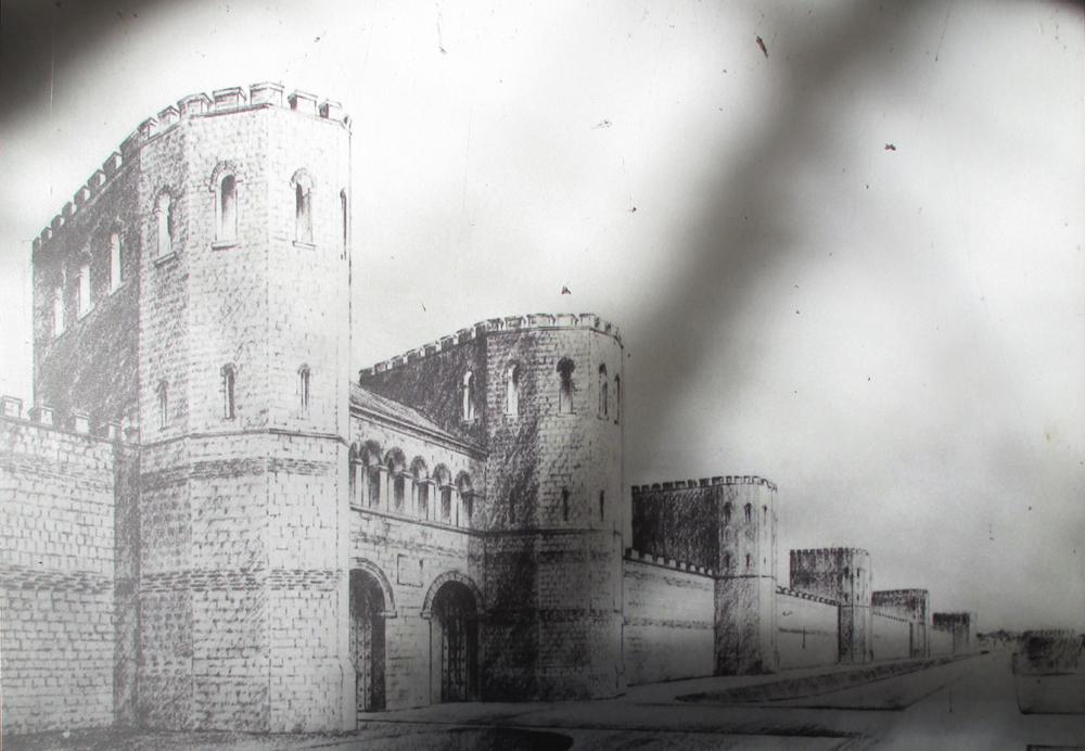 ヨーク市城壁 009-1