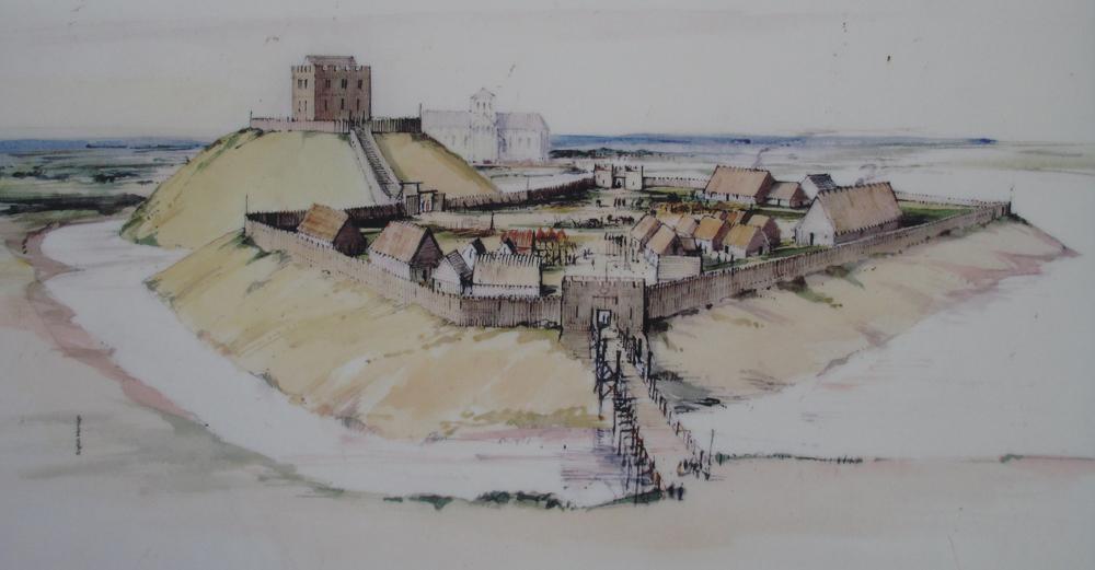 ヨーク城復元図1